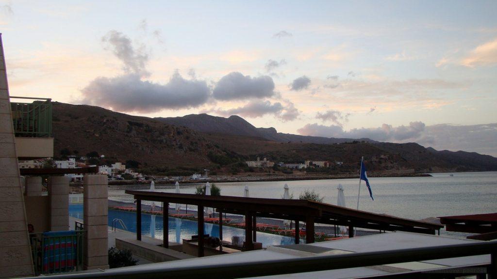 Widok z hotelu Grand Bay