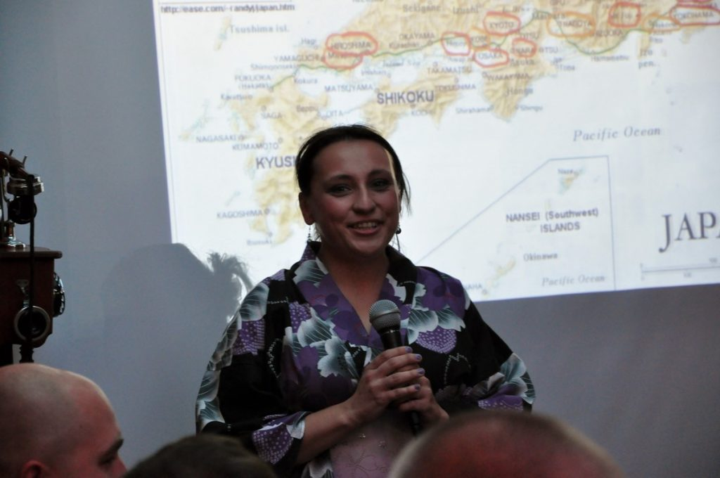 Nasza przewodniczka po Japonii - Dorota Paszek