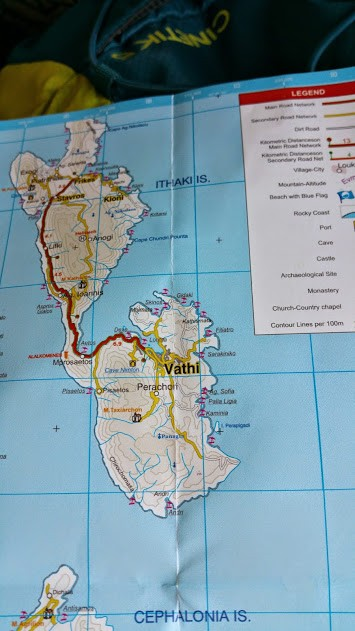Itaka mapa