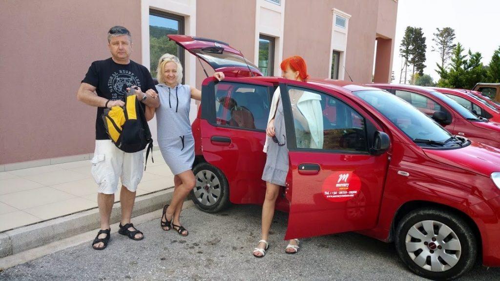 Nasz pierwszy wyjazd wypożyczonym autkiem