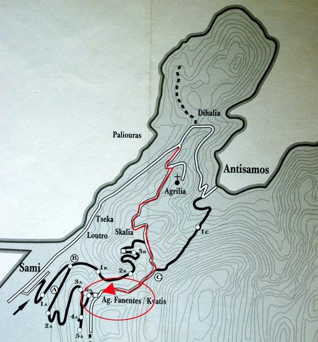 Mapa Sami