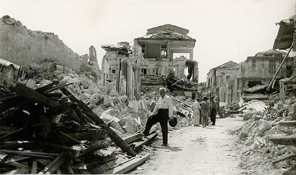 argostoli po trzęsieniu ziemi