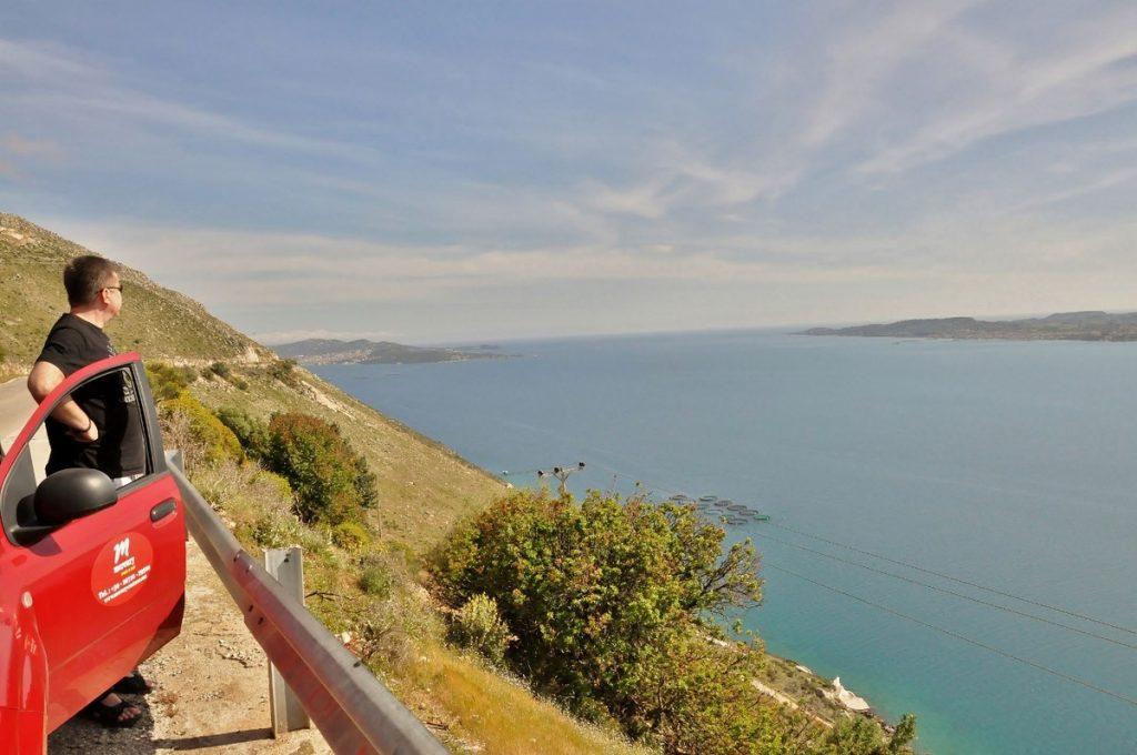 Widok na Argostoli i Lixouri